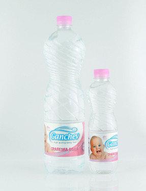 ГАНЧЕВ Трапезна Вода за новородени 1.5л. 9 седмици